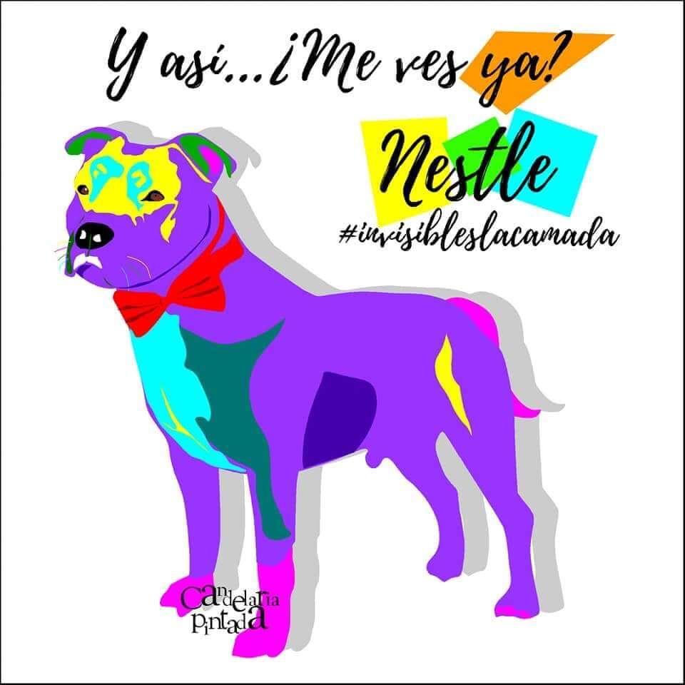 Nestlé a todo color!! @candelariapintada